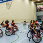 Jeugd New Stars geniet van rolstoelclinic Oranje
